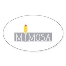 Mimosa Sign Decal