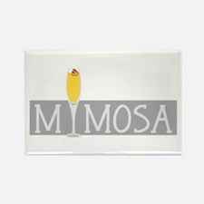 Mimosa Sign Magnets