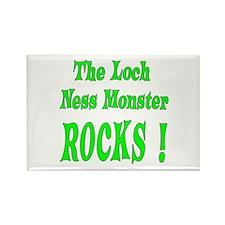 Loch Ness - Green Rectangle Magnet (10 pack)