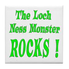 Loch Ness - Green Tile Coaster