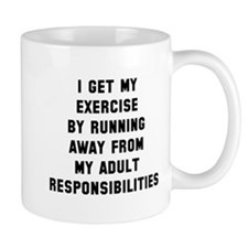 Running away responsibilities Mug