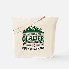 Glacier Vintage Tote Bag