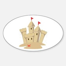 Sandcastle Decal