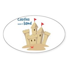 Castle Made Of Sand Decal