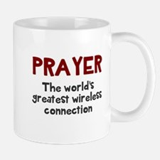 Prayer wireless connection Mug