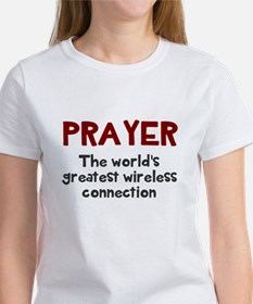 Prayer wireless connection Tee