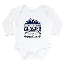 Glacier Vintage Long Sleeve Infant Bodysuit