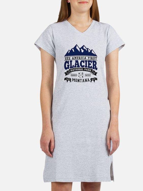 Glacier Vintage Women's Nightshirt