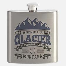 Glacier Vintage Flask
