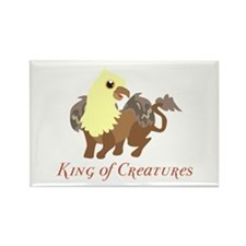 King Of Creatures Magnets