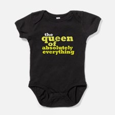 The queen of everything Baby Bodysuit