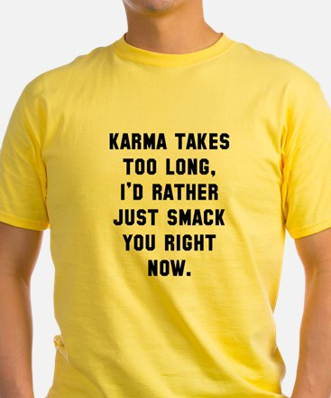 Karma takes too long T