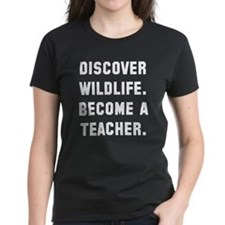 Discover wildlife. Become a t Tee