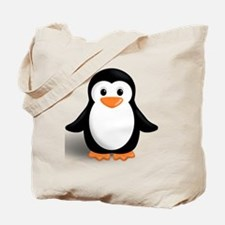 Funny Cute penguin Tote Bag