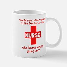 Nurse knows Mug