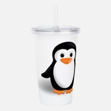 Unique Animals penguin Acrylic Double-wall Tumbler