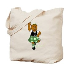 Molly the Highland Dancer Bear Tote Bag