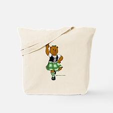 Molly the Highland Dancer Bear Tote Bag