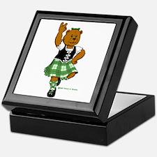 Molly the Highland Dancer Bear Keepsake Box