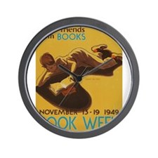 1949 Children's Book Week Wall Clock