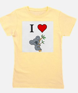 Cute I love australian kelpies Girl's Tee