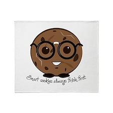 Smart Cookies Throw Blanket
