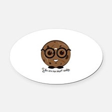 One Smart Cookies Oval Car Magnet