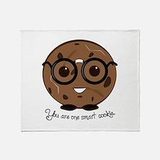 One Smart Cookies Throw Blanket