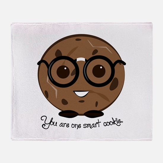 One Smart Cookies Throw Blanket