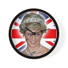 HRH Princess Diana Professional Photo Wall Clock