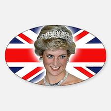 HRH Princess Diana Professional Photo Decal