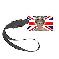 HRH Princess Diana Professional Photo Luggage Tag