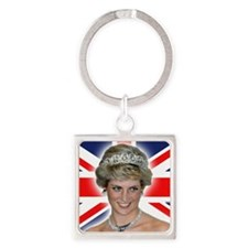HRH Princess Diana Professional Photo Keychains