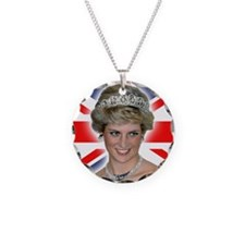 HRH Princess Diana Professional Photo Necklace
