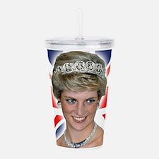 HRH Princess Diana Professional Photo Acrylic Doub