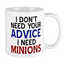 Advice Versus Minions Mugs