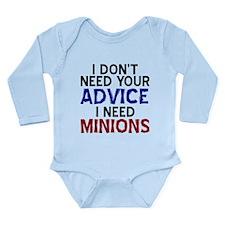 Advice Versus Minions Body Suit