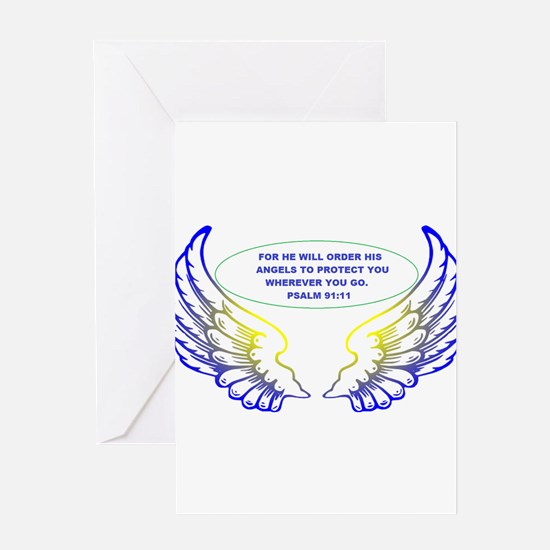 Angel Wings Greeting Cards