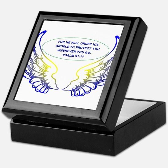 Angel Wings Keepsake Box