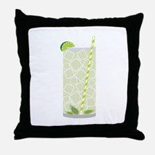 Tall Mojito Throw Pillow