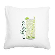 Mojito Square Canvas Pillow