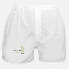 A Mojito Please Boxer Shorts