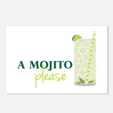 A Mojito Please Postcards (Package of 8)