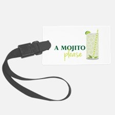 A Mojito Please Luggage Tag
