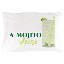 A Mojito Please Pillow Case