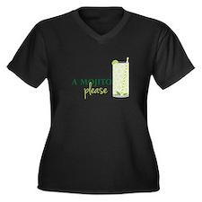 A Mojito Please Plus Size T-Shirt