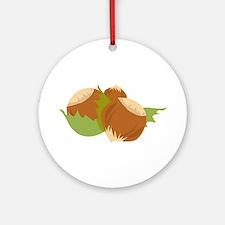 Hazelnuts Ornament (Round)