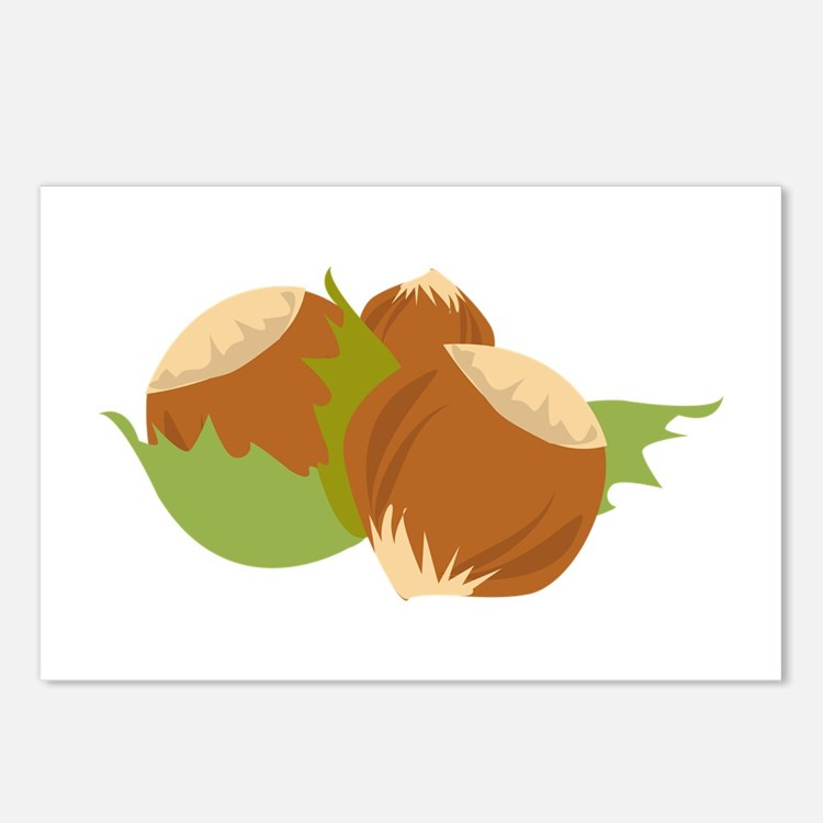 Hazelnuts Postcards (Package of 8)