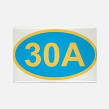 30A Florida Emerald Coast Rectangle Magnet