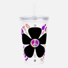 Peace Sign.png Acrylic Double-Wall Tumbler